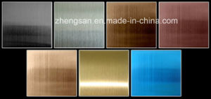201 Stainless Steel Colored Sheet pictures & photos
