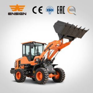 Ensign Brand New Front Trpe 2t Mini Wheel Loader with Ce/Euro 3 pictures & photos