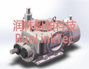 Screw Pump/Double Screw Pump/Twin Screw Pump/Fuel Oil Pump/2lb2-150-J/150m3/H pictures & photos