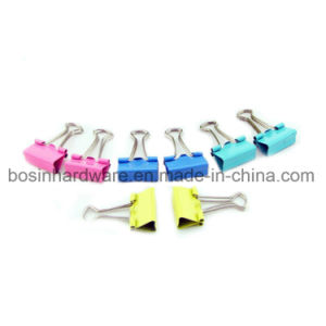 Color Printed Metal Binder Clips pictures & photos