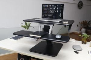 """Loctek 31"""" Wide Platform Height Adjustable Standing Desk Riser, Sit-Stand Workstation, Black (MT103M-PT) pictures & photos"""