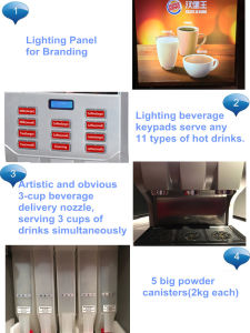S500 - Commercial Instant Coffee Machine for Ho. Re. Ca pictures & photos