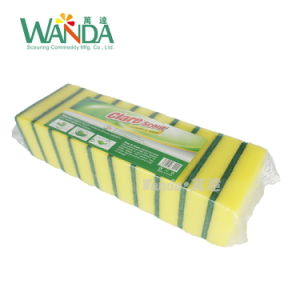 Duarable Kitchen Sponge Scouring Pads Dishes Cleaning Sponge Scrubber pictures & photos