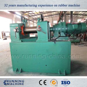 Two Rollers Rubber Mixing Mill Machine Xk-160 pictures & photos