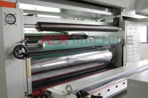 High Speed Laminating Machine with Thermal Knife Separation (KMM-1050D) Pet Lamination pictures & photos