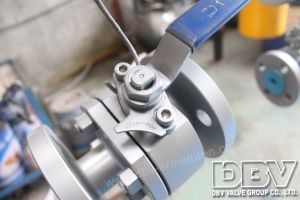 Industrial Flanged Ball Valve pictures & photos