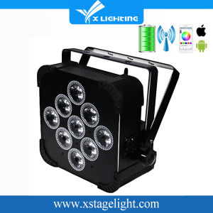 Disco Light 9*18W Battery Power Wireless DMX LED PAR pictures & photos