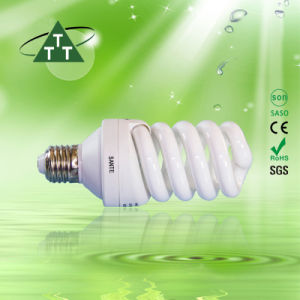 Energy Saving Lamp 40W Full Spiral Halogen/Mixed/Tri-Color 2700k-7500k E27/B22 220-240V pictures & photos