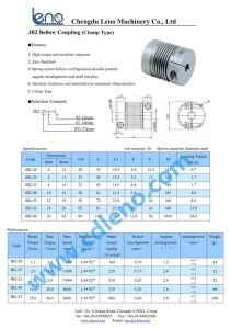 Jb2-32 Stainless Steel Bellows Coupling in Shaft Coupling pictures & photos