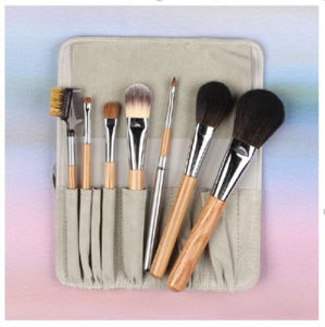 7 Pieces Sable Mink Hair Cosmetic Makeup Brush pictures & photos