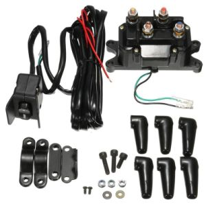 12V ATV UTV SUV Solenoid Relay Contactor Winch Rocker Switch Thumb Wiring Combo pictures & photos