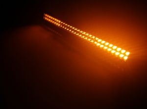off Road Dual Color White and Amber LED Fog Light Bar pictures & photos