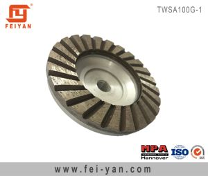 Turbo Type Single Row Cup Wheel pictures & photos