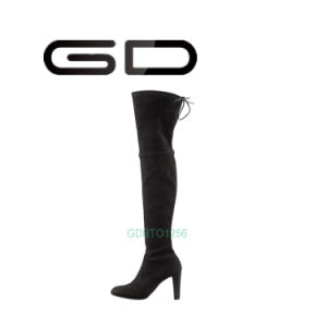 Latest Overknee Boots for Women Genuine Leather Gdshoe pictures & photos