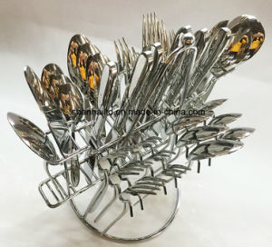 34PCS 18/10 Cutlery Set pictures & photos