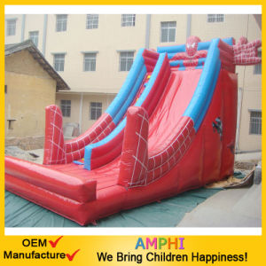 Spoder Man Inflatable Slide Animal Slide for Kids Play pictures & photos