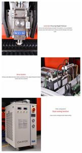 Eks Higher Laser Power Fiber 1000W, 1500W Metal Sheet Cutting Machine pictures & photos