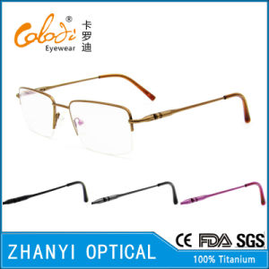 Latest Design Titanium Eyeglass (8312)