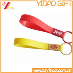 Popular Newest Colorful Silicone Key Chain pictures & photos