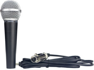 Sm58 Dynamic Handheld Wired Microphone pictures & photos