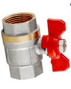 The Brass Forging Butterfly Type Ball Valve (EM-V-74) pictures & photos
