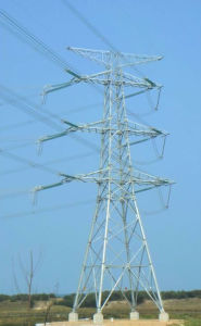 Export Production Angle Steel Transmission Tower pictures & photos
