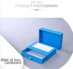 Simple Rigid Cardboard Pull-out Structure Electronic Phone Protective Box pictures & photos