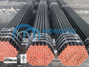 Manufacturer of Hot Rolling ASTM A106 Gr B Seamless Steel Pipe pictures & photos