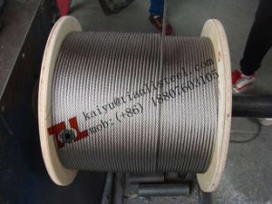 AISI304 7*7 Stainless Wire Rope pictures & photos