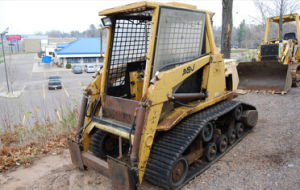 18′′x4′′x55 457*101.6*55 Multi Terrain Loader Cat MD70 Compact Track Loader Track pictures & photos