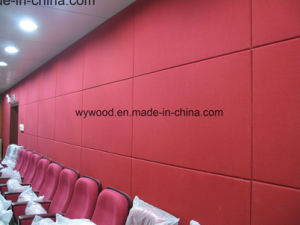 Fiberglass Acoustic Panel for Cinema Wall pictures & photos