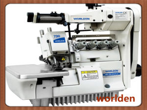 Wd-700-4/Lfc-2 Supper Four-Thread High-Speed Elastic Overock Sewing Machine pictures & photos