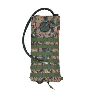 Army Green Hydration Pack Backpack with Water Bladder pictures & photos