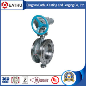 BS En 593 Cast Iron Flanged Butterfly Valve pictures & photos