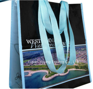 PP Fabric Tote Bag with Customized Pringting pictures & photos