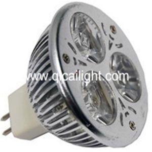 MR16 3X1w LED Spotlight (QC-MR16 3X1W-S8) pictures & photos