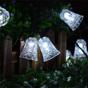40 LED 25FT 8 Modes Bell Solar String Light pictures & photos