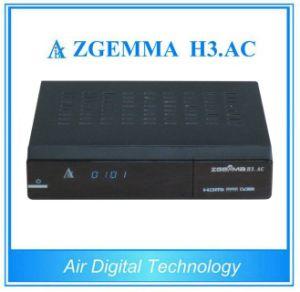 Multi-Media Player Box Zgemma H3. AC Satellite Receiver Linux OS Enigma2 DVB-S2+ATSC Tuners pictures & photos