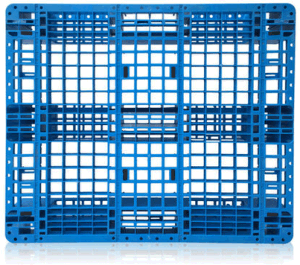 1100*1100*155mm HDPE Plastic Pallet Grid Surface Shelf Racking Plastic Tray with 3 Runners for Warehouse Products pictures & photos