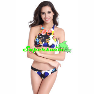 Printed Sexy Tankini for Lady pictures & photos