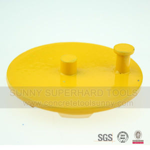 6 Seg 2 Pin Metal Bond Diamond Grinding Pad pictures & photos