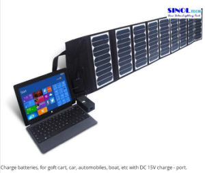 Mobile Phone Solar Charger 60W Solar Panel Folding Bag Smart Phone Solar Charger pictures & photos