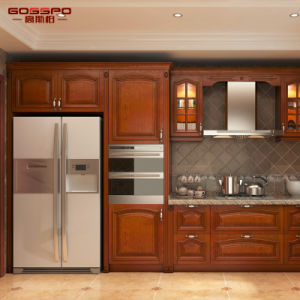 Kitchen Furniture Modern Solid Wooden Painting Kitchen Cabinet (GSP5-049) pictures & photos