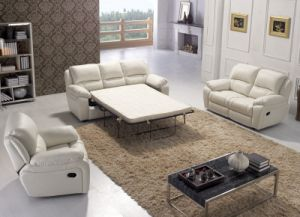 Modern Furniture Leather Sofa in Foshan (LR047) pictures & photos