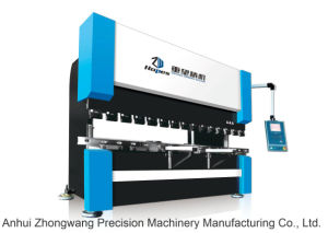 We67k 100t/3200 Electro-Hydraulic Dual Servo Synchronous CNC Bending Machine pictures & photos