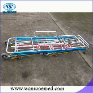 Ea-3A2 High Quality Loading Aluminum Alloy Folding Ambulance Stretcher pictures & photos
