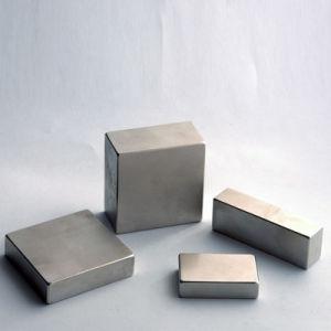 Wholesale Rare Earth Cube Block Permanent Neodymium Magnets pictures & photos