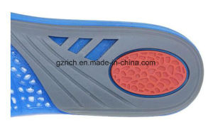 Silicone Insole Orthotic Insole Shock Absorbing Silicone Gel Insole pictures & photos