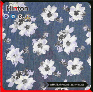 Ready Goods Yarn Dyed Printed Denim Fabric Wholesale Price Cheaper pictures & photos