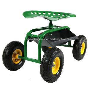 Garden Work Seat/Rolling Garden Seat Cart/Removable Seat Tc4501e